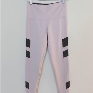 Strut this pink & black workout pants size S/M